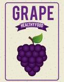Organic healthy food design Stock Image