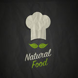 Organic healthy natural food Stock Image