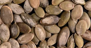 Organic and healthy pumpkin seeds. stock photography