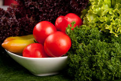 Organic healthy vegetables Stock Photography