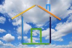 Organic home Royalty Free Stock Photo
