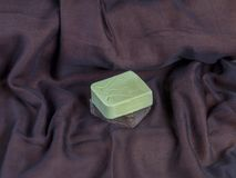 Organic home made soap Royalty Free Stock Images