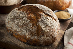 Organic Homemade Ancient Grain Bread Stock Photos