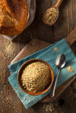 Organic Homemade Bread Crumbs Stock Photography