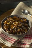 Organic Homemade Mincemeat Filling Royalty Free Stock Photography