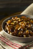 Organic Homemade Mincemeat Filling Stock Image
