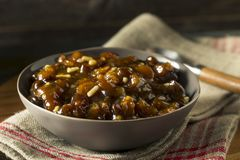 Organic Homemade Mincemeat Filling Royalty Free Stock Photo