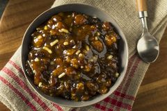 Organic Homemade Mincemeat Filling Stock Photography