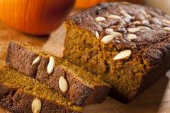 Organic Homemade Pumpkin Bread Royalty Free Stock Image