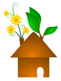 Organic House Concept Stock Photo