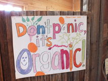 Organic is important Royalty Free Stock Photography