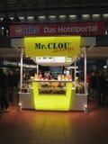 Organic juice and smoothie bar in Hamburg Stock Image
