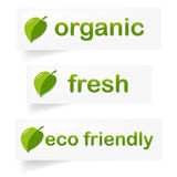 Organic Label Royalty Free Stock Photography