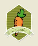 Organic label Royalty Free Stock Images