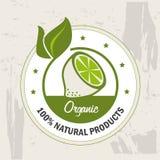 Organic label Royalty Free Stock Photos