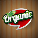 Organic Label vector Stock Photo