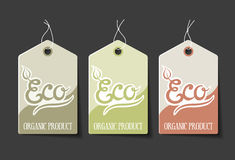 Organic Labels Royalty Free Stock Photo