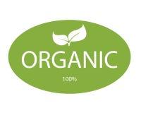 Organic lable Stock Image