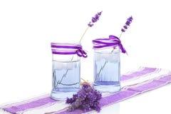 Organic lavender lemonade. Royalty Free Stock Images