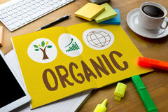 ORGANIC Life Preservation Protection Growth Project About Business Growth royalty free stock photography