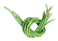 Organic long bean Stock Image