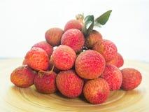 Organic lychee royalty free stock photography