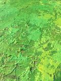 Organic matter summer background with green spring painting texture. Organic matter background with green painting textures for eco shop, organic and bio food Royalty Free Stock Images