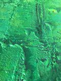 Organic matter summer background with green spring painting texture. Organic matter background with green painting textures for eco shop, organic and bio food Royalty Free Stock Photos