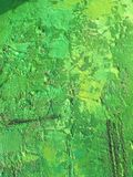 Organic matter summer background with green spring painting texture. Organic matter background with green painting textures for eco shop, organic and bio food Stock Images