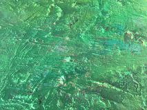 Organic matter summer background with green spring painting texture. Organic matter background with green painting textures for eco shop, organic and bio food Royalty Free Stock Image