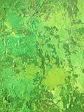 Organic matter summer background with green spring painting texture. Organic matter background with green painting textures for eco shop, organic and bio food Stock Photo