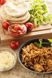 Organic Mexican Shredded Beef for tacos Stock Image