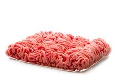Organic minced meat Stock Photo