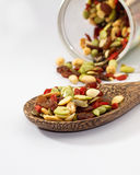 Organic mixed nut Stock Images
