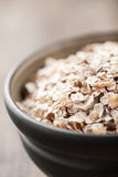 Organic muesli in a bowl Royalty Free Stock Photos