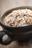Organic muesli in a bowl Royalty Free Stock Photo