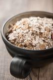 Organic muesli in a bowl Stock Photo