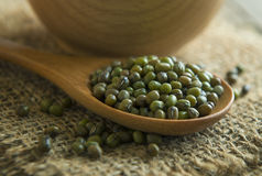 Organic mungbeans Royalty Free Stock Photo