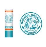 Organic natural logo. Vector design elements for organic natural logo Royalty Free Stock Photo