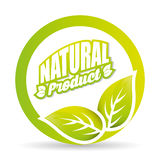 Organic and Natural Product label Royalty Free Stock Images