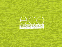Organic Nature Eco Friendly Vector Background Concept.  vector illustration