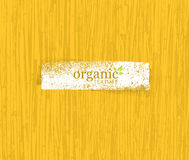Organic Nature Friendly Eco Bamboo Background. Bio Vector Texture. Royalty Free Stock Photography