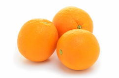 Organic navel oranges Royalty Free Stock Photography