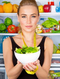 Organic nutrition concept Stock Photography
