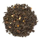 Organic Orange blossom Citrus sinensis green tea. royalty free stock photography