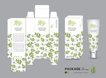 Organic packaging Template Vector Illustration. Package tags Stock Photos