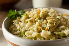 Organic Paleo Cauliflower Rice Stock Images