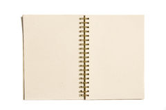 Organic paper notebook Royalty Free Stock Photos