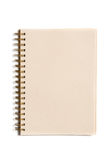 Organic paper notebook Royalty Free Stock Photography