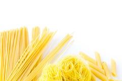 Organic pasta royalty free stock photos
